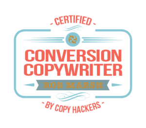 Certified Conversion Copywriter